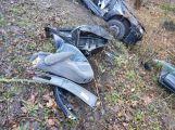 Právě teď: Po nárazu do stromu zůstala řidička uvězněna ve vozidle, v místě přistává záchranářský vrtulník (6)