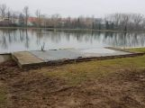 Na Nováku probíhají práce na rekonstrukci oblasti zázemí ()