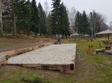 Na Nováku probíhají práce na rekonstrukci oblasti zázemí (2)