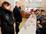 Volební místnosti na Příbramsku jsou otevřeny pro volbu prezidenta ()