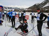 Jan Tománek jako jediný handicapovaný závodník na sledgi třicetikilometrové La Pachifica dosáhl cíl (24)