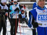 Jan Tománek jako jediný handicapovaný závodník na sledgi třicetikilometrové La Pachifica dosáhl cíl (25)