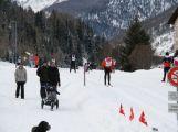Jan Tománek jako jediný handicapovaný závodník na sledgi třicetikilometrové La Pachifica dosáhl cíl (37)