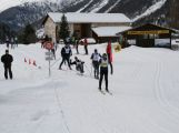 Jan Tománek jako jediný handicapovaný závodník na sledgi třicetikilometrové La Pachifica dosáhl cíl (19)