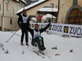Jan Tománek jako jediný handicapovaný závodník na sledgi třicetikilometrové La Pachifica dosáhl cíl (15)