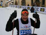Jan Tománek jako jediný handicapovaný závodník na sledgi třicetikilometrové La Pachifica dosáhl cíl (38)
