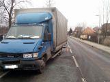 Nehoda dodávky blokuje hlavní tah z Příbrami na Plzeň (2)