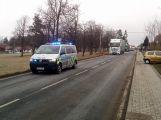 Nehoda dodávky blokuje hlavní tah z Příbrami na Plzeň (4)