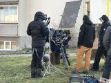 """Natáčení thrilleru """"Rédl"""" běží v Příbrami na plné obrátky ()"""