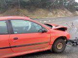Přednost příčinou ranní nehody dvou vozidel (3)