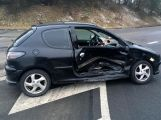 Přednost příčinou ranní nehody dvou vozidel (6)