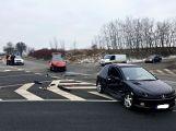 Přednost příčinou ranní nehody dvou vozidel (7)