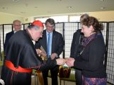 Kardinál Duka navštívil příbramskou nemocnici, požehnal lůžka pro paliativní péči (1)