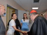 Kardinál Duka navštívil příbramskou nemocnici, požehnal lůžka pro paliativní péči (5)