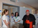 Kardinál Duka navštívil příbramskou nemocnici, požehnal lůžka pro paliativní péči (2)