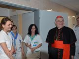 Kardinál Duka navštívil příbramskou nemocnici, požehnal lůžka pro paliativní péči (9)