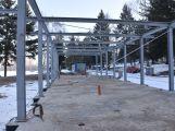 Stavbu restaurace na Nováku nejspíš přeruší mrazy. Přesto se její dokončení předpokládá již koncem května (1)