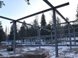 Stavbu restaurace na Nováku nejspíš přeruší mrazy. Přesto se její dokončení předpokládá již koncem května (3)