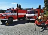 Hasiči z Kamýku nad Vltavou přivítali novou Tatru (44)