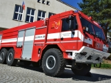 Hasiči z Kamýku nad Vltavou přivítali novou Tatru (59)