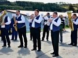 Hasiči z Kamýku nad Vltavou přivítali novou Tatru (64)