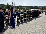 Hasiči z Kamýku nad Vltavou přivítali novou Tatru (55)