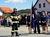 Hasiči z Kamýku nad Vltavou přivítali novou Tatru (78)