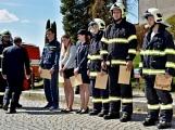 Hasiči z Kamýku nad Vltavou přivítali novou Tatru (83)