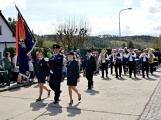 Hasiči z Kamýku nad Vltavou přivítali novou Tatru (74)