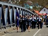 Hasiči z Kamýku nad Vltavou přivítali novou Tatru (12)