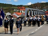 Hasiči z Kamýku nad Vltavou přivítali novou Tatru (13)