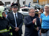 Hasiči z Kamýku nad Vltavou přivítali novou Tatru (17)