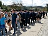 Hasiči z Kamýku nad Vltavou přivítali novou Tatru (36)