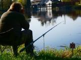 O víkendu zápolili v Rožmitále pod Třemšínem malí i velcí rybáři (40)