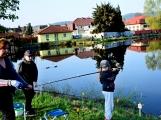 O víkendu zápolili v Rožmitále pod Třemšínem malí i velcí rybáři (34)