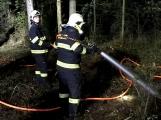 Právě teď: Výjezd příbramských hasičů si vyžádal požár trávy (7)