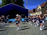 Náměstí v Rožmitále pod Třemšínem v neděli ovládly dechovky (4)