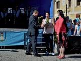 Náměstí v Rožmitále pod Třemšínem v neděli ovládly dechovky (20)