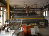 V Dobříši se připravovaly jednotky IZS na únik čpavku ve strojovně zimního stadionu ()