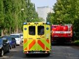 V Dobříši se připravovaly jednotky IZS na únik čpavku ve strojovně zimního stadionu (22)