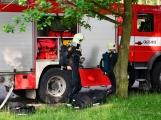 V Dobříši se připravovaly jednotky IZS na únik čpavku ve strojovně zimního stadionu (23)