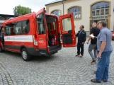 Hasiči z Rožmitálu pod Třemšínem převzali nové vozidlo (4)
