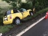 Další dopravní nehoda na Příbramsku si vyžádala zranění (10)