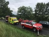 Další dopravní nehoda na Příbramsku si vyžádala zranění (9)