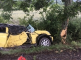 Další dopravní nehoda na Příbramsku si vyžádala zranění (7)