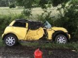 Další dopravní nehoda na Příbramsku si vyžádala zranění (6)