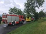 Další dopravní nehoda na Příbramsku si vyžádala zranění (5)