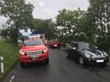 Další dopravní nehoda na Příbramsku si vyžádala zranění (2)