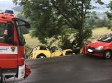 Další dopravní nehoda na Příbramsku si vyžádala zranění (1)