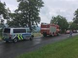 Další dopravní nehoda na Příbramsku si vyžádala zranění (11)